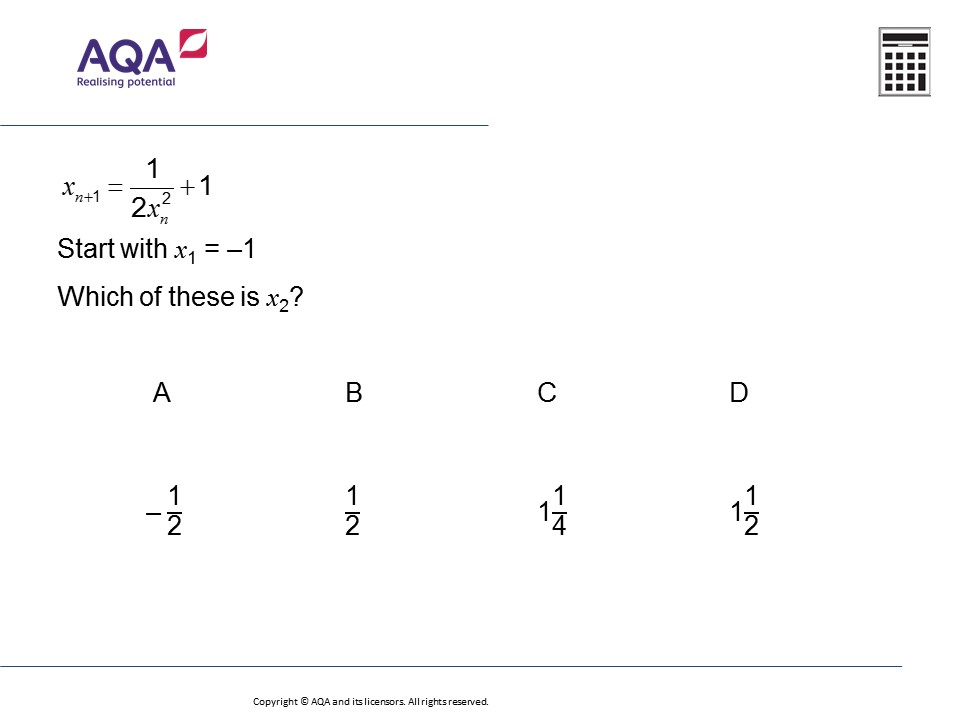 iteration higher gcse maths question of the week on mr barton maths. Black Bedroom Furniture Sets. Home Design Ideas