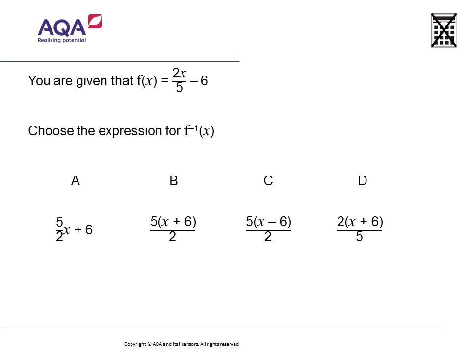 Inverse Functions Higher Gcse Maths Question Of The Week Download Worksheet: Inverse Of A Function Worksheet At Alzheimers-prions.com