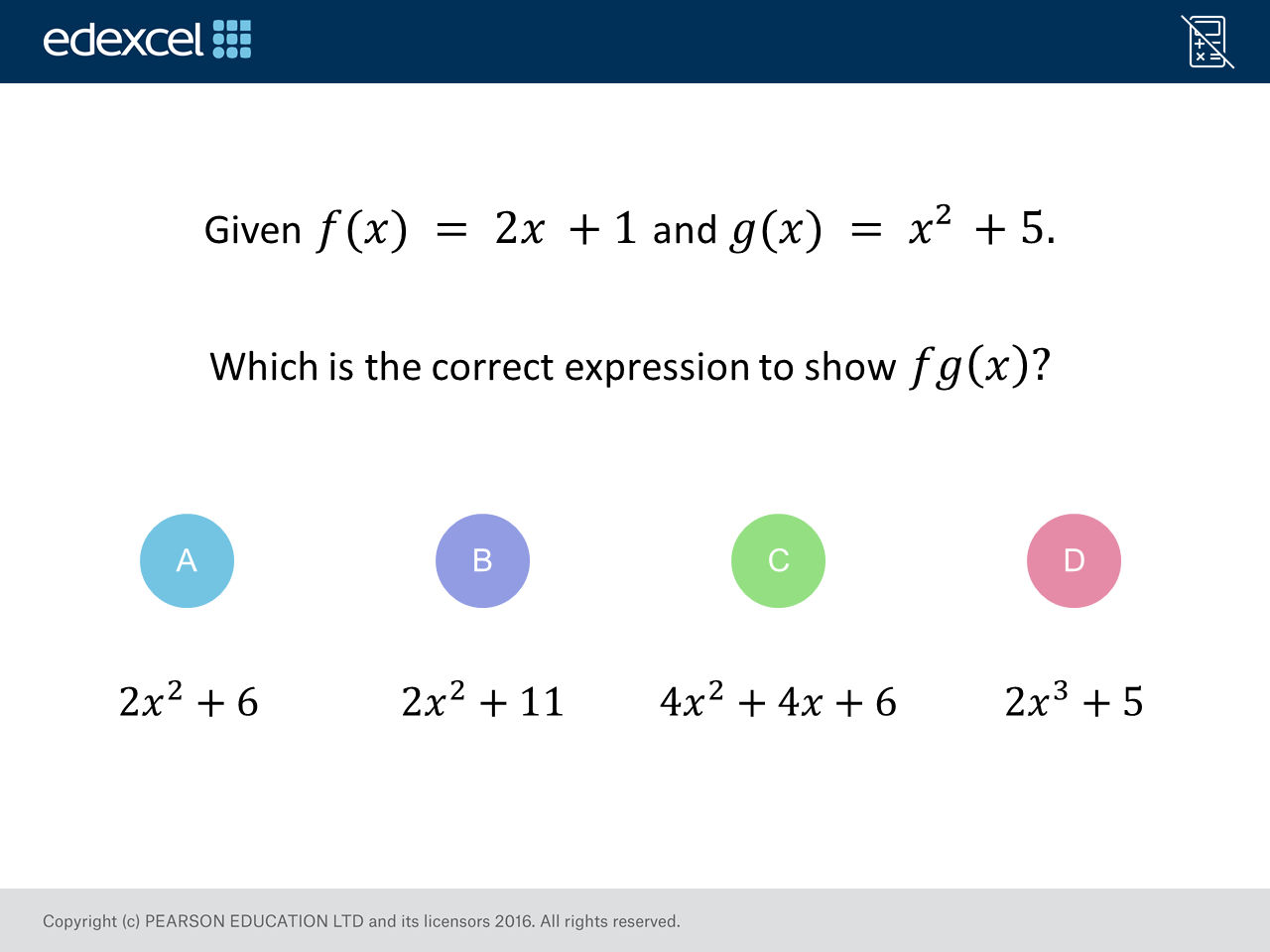 Composite Functions (Higher): GCSE Maths Question of the Week on ...