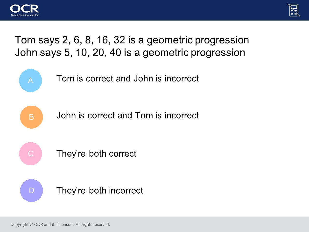 Geometric Sequences (Foundation/Higher): GCSE Maths Question of the ...